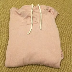 light pink brandy melville hoodie